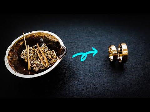 Обручальные кольца с бриллиантом.Процесс изготовления#MatsonJewellery photo
