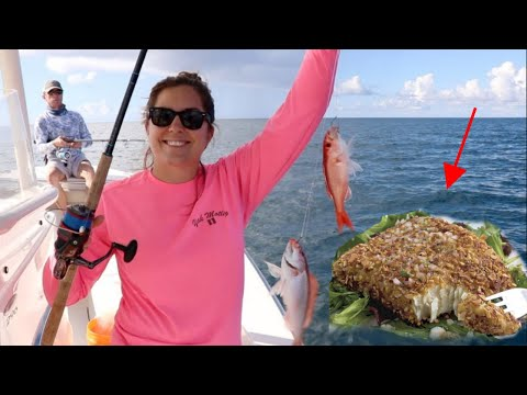 How to COOK Almond Crusted Snapper! ( JUST TRY IT! )