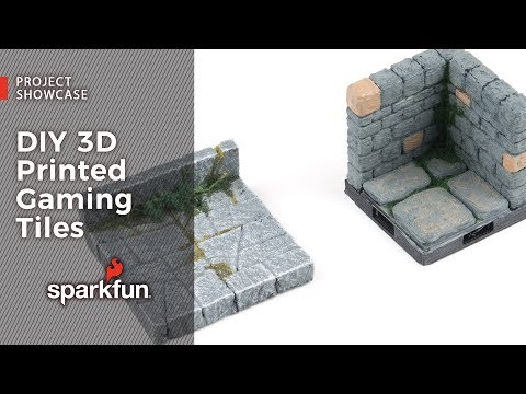 Project Showcase: DIY 3D Printed Gaming Tiles