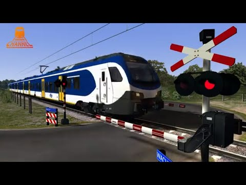 TRAIN SIMULATOR - Dutch Railroad Crossing - COHA nl - ChrisTrains NS Stadler photo