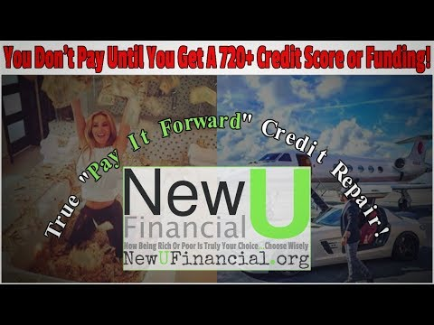 "New U Financial - ""Pay It Forward"" Credit Repair Program"