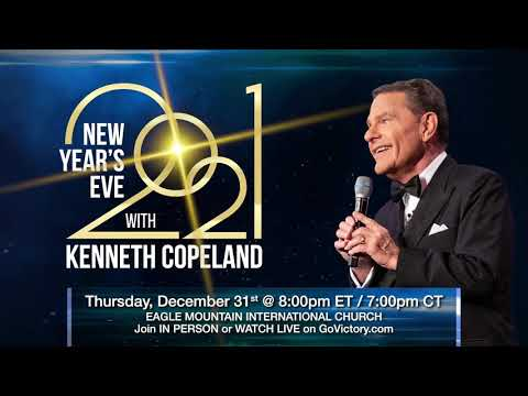 Celebrate New Year's Eve With Kenneth Copeland!