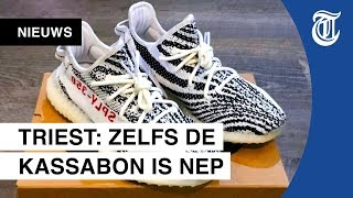 Fake Yeezy's? Zo herken jij namaak-sneakers