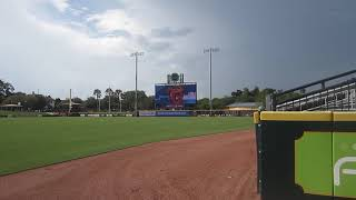 Jacksonville Jumbo Shrimp (Miami Marlins affiliate) across from Daily's Place and TIAA Bank Field