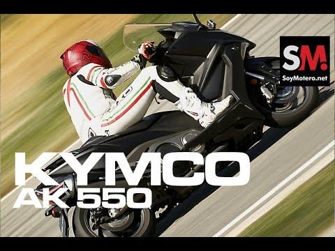 KYMCO AK 550 2017: Prueba Scooter [FULLHD]