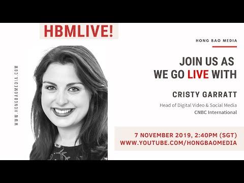 HBM LIVE: Interview with Cristy Garratt, Head of Digital Video & Social Media of CNBC International