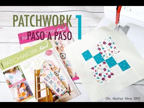 Aprende la tecnica del Patchwork paso a paso 1
