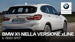 BMW X1 xLine, con vantaggio cliente del 50%. Lo spot.