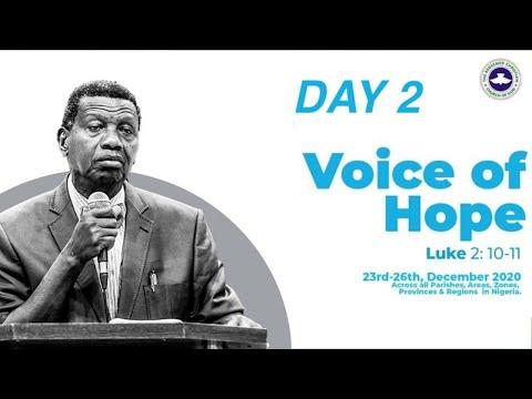 PASTOR E.A ADEBOYE SERMON - VOICE OF HOPE - EMURE EKITI/MODAKEKE/EPE