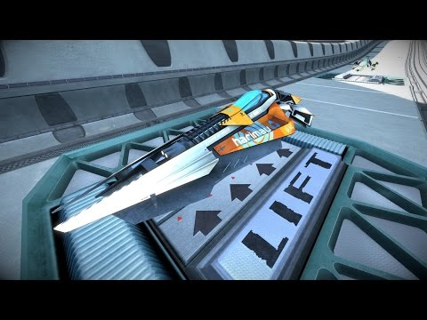 6 Minutes of Wipeout Omega Collection Gameplay in 4K 60fps - PSX 2016