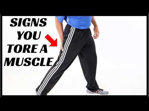 10 Signs You Have Torn A Muscle- How to Treat At Home