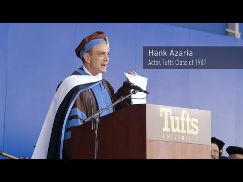 Tufts Commencement 2016: Hank Azaria Highlights