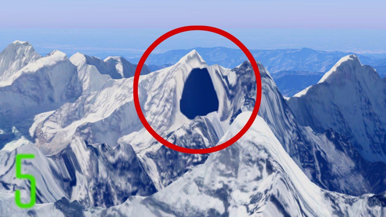 5 Secret Places Censored on Google Maps
