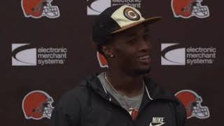 Denzel Ward on Greedy Williams, Terrance Mitchell, and Baker Mayfield - MS&LL 8/20/19