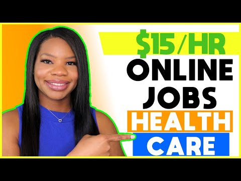 🟢 *Apply ASAP!!* $15 HOURLY Part-Time Healthcare Online Work-From-Home Jobs!