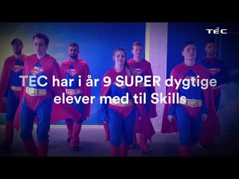TECs SUPER dygtige DM i Skills-deltagere 2018