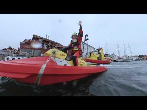 Sjöräddningssällskapet: Öppen båt på Rescuerunner
