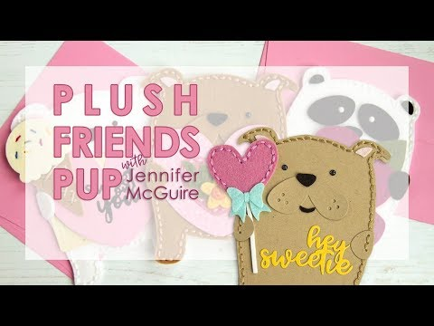 Plush Friends Pup w/Jennifer McGuire