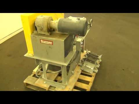 Used- Sturtevant Roll Crusher, Model 8 X 5 stock # 48417004