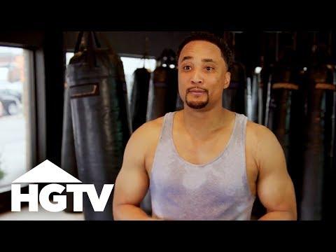 DeRon Jenkins Gets a Kickboxing Lesson in Nashville - HGTV
