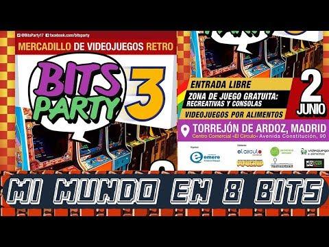 BITS PARTY 3 - TORREJON DE ARDOZ - FERIA VIDEOJUEGOS