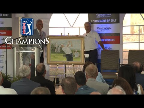 Full Fred Couples Speech from Ambassador of Golf Award at Bridgestone SENIOR PLAYERS