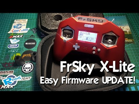 FrSky X-Lite - 3 ways of Firmware update - EASY! - UCv2D074JIyQEXdjK17SmREQ