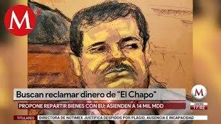 Monreal propone que México y EU se repartan bienes de 'El Chapo'