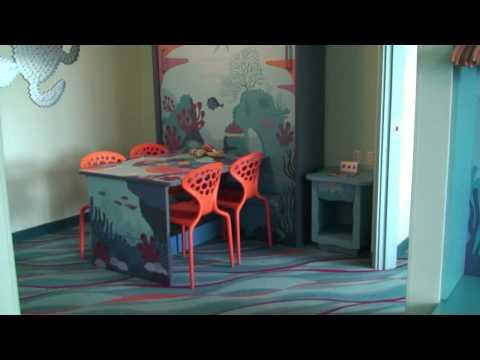 Disney's Art of Animation Resort Finding Nemo Family Suite Detailed Room Tour - Walt Disney World - UCe-gHr2O_LP7t0YJYHZQZlg