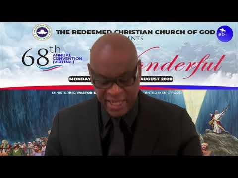 PASTOR  AGU IRUKWU SERMON  RCCG AUGUST 2020 HOLY GHOST SERVICE