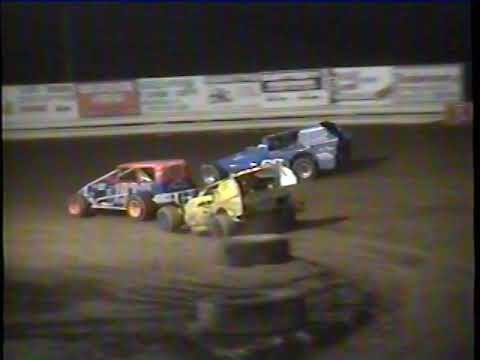 Hidden Valley Speedway July 31, 1993 Modified Feature - dirt track racing video image