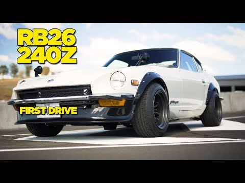 Turbo RB26 240Z // FIRST DRIVE