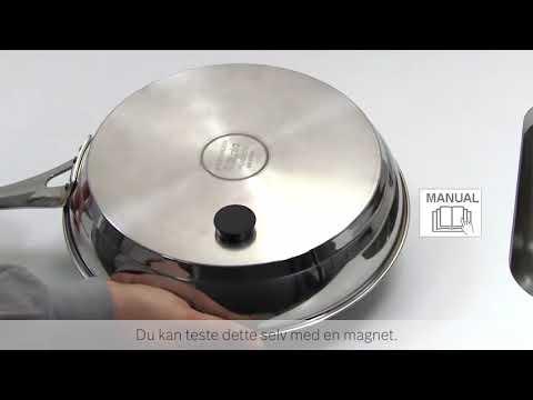 Hvilke kjeler kan brukes på Bosch induksjonstopp