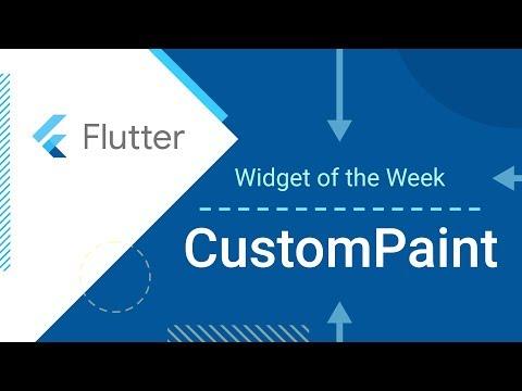 CustomPaint (Flutter Widget of the Week) - UC_x5XG1OV2P6uZZ5FSM9Ttw
