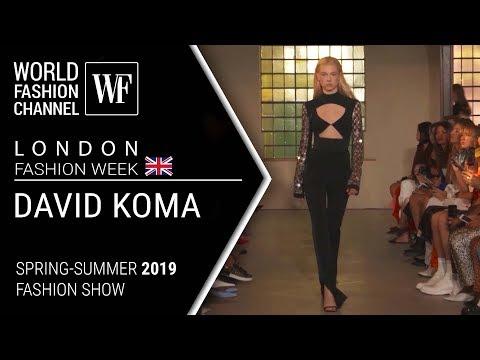 David Koma | Spring-summer 2019 London fashion week