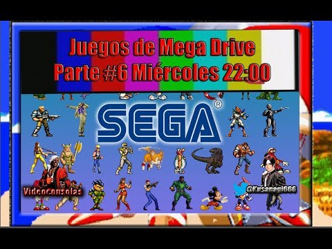 ➡ Juegos de Mega Drive Parte #6 ⬅