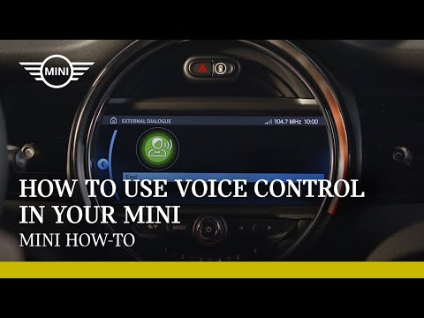 How to use voice control in your MINI |  MINI How-To