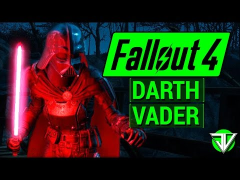 FALLOUT 4: Star Wars DARTH VADER Mods! (Red Lightsaber, Darth Vader Helmet, and more!) - UC3WoPalcYf7d_x4DC2BXAfw