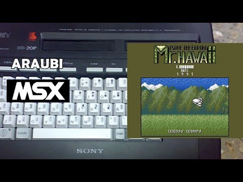 Mr. Hawaii Save the Earth (RATS, 1991) MSX2 [387] Walkthrough