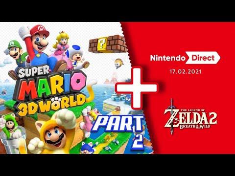 Super MARIO 3D World + Nintendo Direct Reaction Part 2