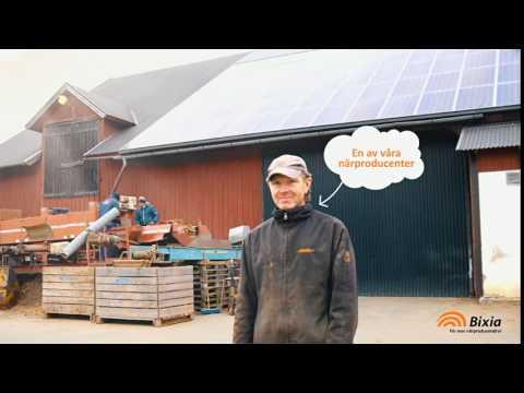 Närproducerad el från Vistena gård, Östergötland