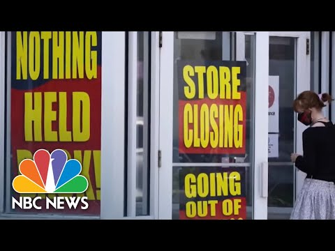 Economy Slow To Recover As Trump Pitch Aims At Latinos Despite Financial Pandemic Hit | NBC News NOW