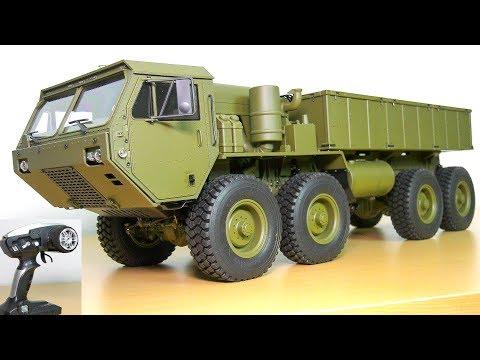 AMAZING RC TRUCK M983 HEMTT OSHKOSH 8x8 UNBOXING!! RC CRAWLER AMEWI 22389 HG P801 - UCOM2W7YxiXPtKobhrYasZDg