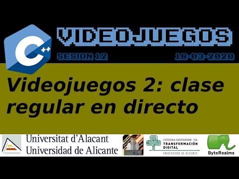 Videojuegos 2. Sesión 13: Comportamientos configurables. Ingeniería Multimedia. Universidad Alicante