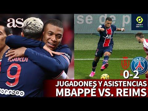 Mbappé da dos asistencias tras jugadas de clase mundial | REIMS 0-2 PSG | Diario AS