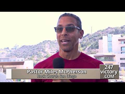 Miles McPherson Reports At Legacy Center