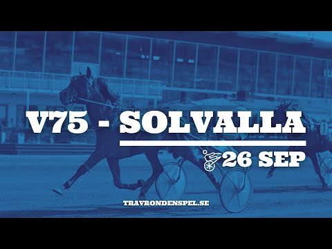 V75-tips Solvalla - 26 september 2020