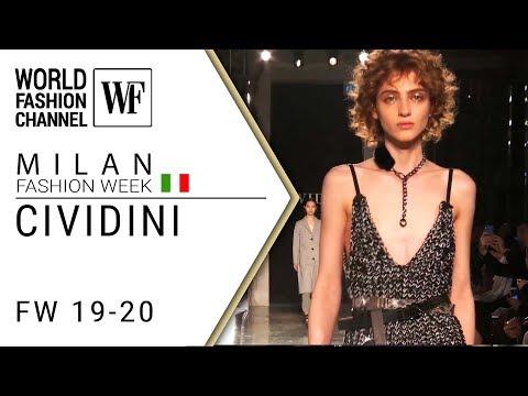 Сividini Fall-winter 19-20 Milan fashion week