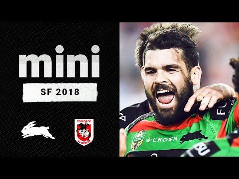 That last five minutes though | Rabbitohs v Dragons Match Mini | Semi Final, 2018 | NRL