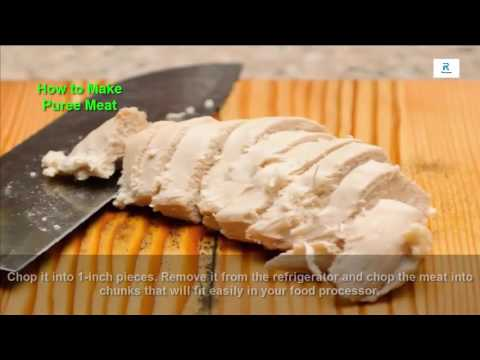 How to make baby food (meat puree)